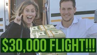 $30,000 FLIGHT vs $300 FLIGHT!!