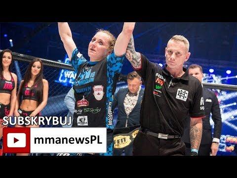 """Marta Waliczek o obronie pasa FEN: """"Całym sercem jestem w MMA."""""""