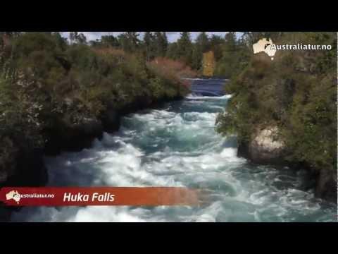 Huka Falls i New Zealand
