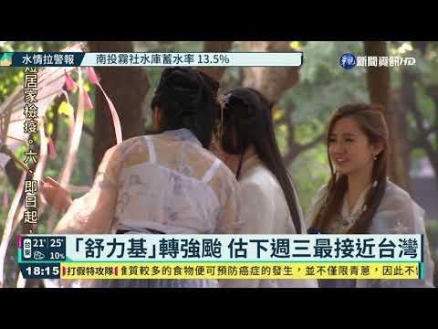 「舒力基」轉強颱 估下週三最接近台灣|華視新聞 20210417