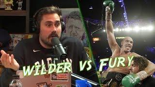 Pardon My Take React To The Tyson Fury vs Deontay Wilder Heavyweight Fight