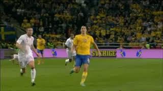 Zlatan Ibrahimovic's famous 30 yard bicycle kick vs England