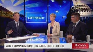 Trump skips Arizona with deportation sweep