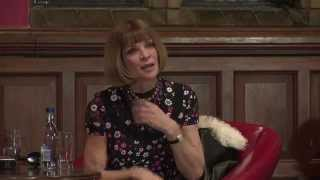 Anna Wintour Q&A at the Oxford Union