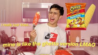 i tried cooking HOT CHEETO ELOTES..