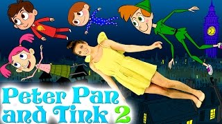 Tinkerbell and Peter Pan - Part 2 | Story Time with Ms. Booksy at Cool School