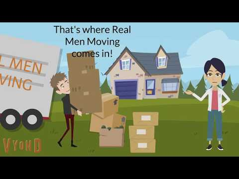 Moving to Austin? Real Men Moving Has Your Back!