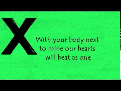 Ed Sheeran - Afire love lyrics - YouTube