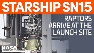 Starship SN15's Raptors Arrive - GSE 3 Forward Dome Stacked | SpaceX Boca Chica