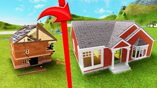 My GIRLFRIEND FIXES My HOUSE! (Roblox House Makeover)