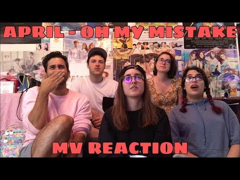 APRIL (에이프릴) - Oh! My Mistake (예쁜 게 죄) MV Reaction [THIS WAS A BANGER!]
