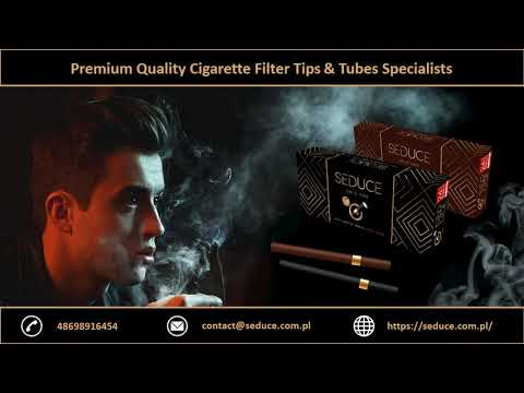Premium Quality Cigarette Filter Tips & Tubes Specialists