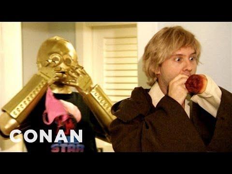 """Parodie """"Star Wars: Episode VII"""" Audition Tape - CONAN on TBS"""