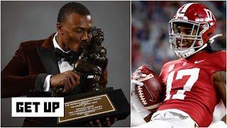 DeVonta Smith vs. Jaylen Waddle: Which Alabama WR is the better NFL prospect? | Get Up