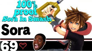 Why Sora WILL 100% be in Super Smash Bros. Ultimate