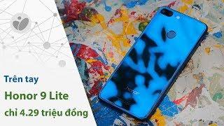 Honor 9 Lite: 4 camera, màn hình full view