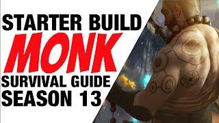 Diablo 3 Monk Starter Build Season 13 Sunwuko Guide