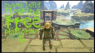 Floating Tree Platform Swamp Base Build On Ark Survival Evolved Xbox One NO  Mods!