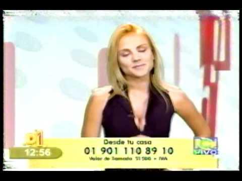 D1 Ximena Cordoba, Televisión Colombiana 2004 - YouTube