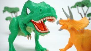 Dino Mecard  SD Tyrannosaurus + Triceratops | ToyMoon