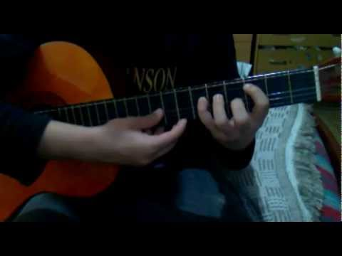 Como tocar ''Sweet Dreams - Marilyn Manson'' Intro facil en guitarra