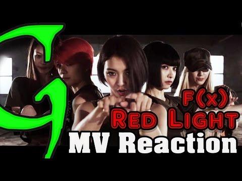 F(x) 에프엑스 - Red Light Kpop MV Reaction (뮤직비디오) (리액션) 1080p HD