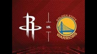 NBA LIVE STREAM: Golden State Warriors Vs. Houston Rockets Play By Play & Reaction Game 6