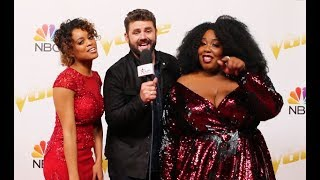 Team Blake Goes SILENT When Asked About BTS The Voice Moment