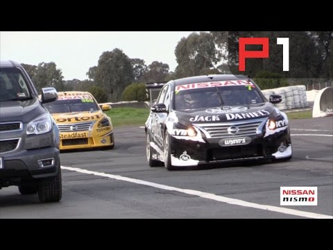 V8 Supercars - Behind the scenes Nissan 3D printing centre