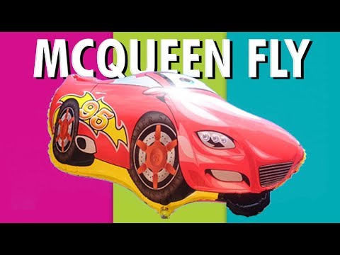 Mcqueen Lightning Cars Toys Ballons || Mainan Anak Anak Balon Udara Foil Karakter