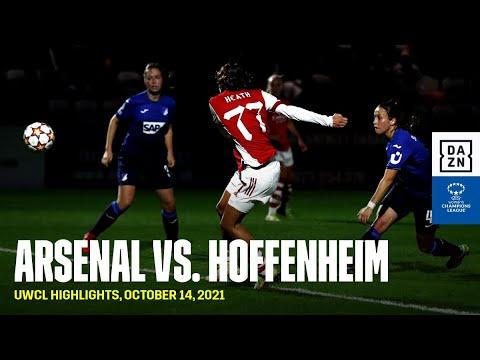 HIGHLIGHTS   Arsenal vs. Hoffenheim -- UEFA Women's Champions League 2021-22
