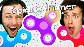 FIDGET SPINNER GAME?! Spinz.io CHALLENGE!!