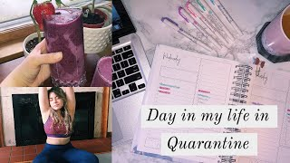 Day in my life in Quarantine while in college