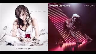 Jar Of Lies - Imagine Dragons vs Christina Perri (Mashup)