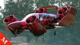 5 Chiếc Siêu Xe Ô Tô Bay Bạn Không Tin Chúng Đang Tồn Tại (#cnm)
