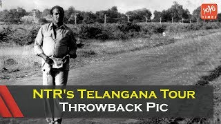NTR's Telangana Tour Throwback Pic- Telangana Elections..