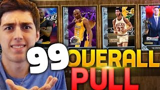 I PULLED A 99 DIAMOND IN A PACK AND PLAY! NBA 2K16