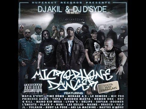 MICROPHONE DANGER (ALBUM COMPLET) mixé par DJ AKIL & DJ D SYDE (HUPERKUT RECORDS)