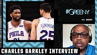 Charles Barkley: Joel Embiid should tell Ben Simmons to 'Get your game together, man!'   #Greeny