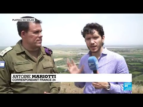 """Sur le plateau du Golan : """"Vous, Iraniens, que faites-vous ici ?""""Porte-parole de l'armée Israélienne"""