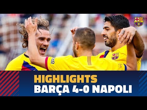 FC Barcelona – SCC Napoli (4-0) HIGHLIGHTS
