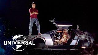 Back to the Future Trilogy | Every DeLorean Time Machine Scene