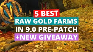5 best raw gold farms in pre-patch | Wow Shadowlands 9.0 gold farming guide
