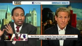 Is Jordan And Pippen The Greatest Duo   ESPN First Take