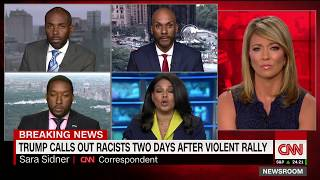 CNN Charlottesville panel erupts: I won't be attacked on my blackness!