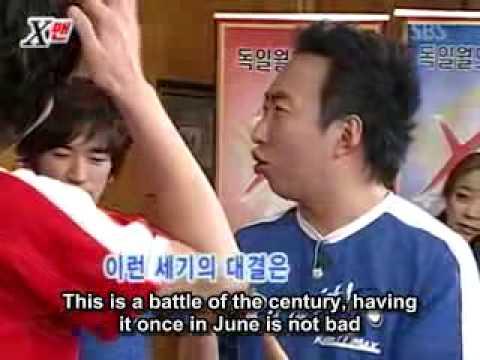 Xman Dangyunhaji   Eric vs Park Myung Soo