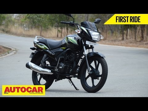 TVS Star City+ | First Ride Video Review | Autocar India