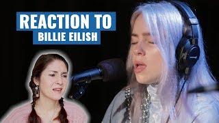 Vocal Coach Reacts To Billie Eilish