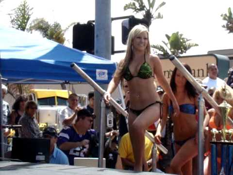 Swimsuit Bikini Model Contest Pacific Beach