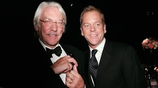 Emotional Donald Sutherland Talks Memory Of Son Kiefer's Audition